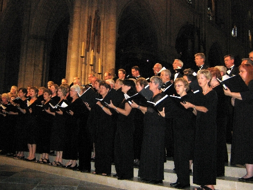 Church Choir Tours