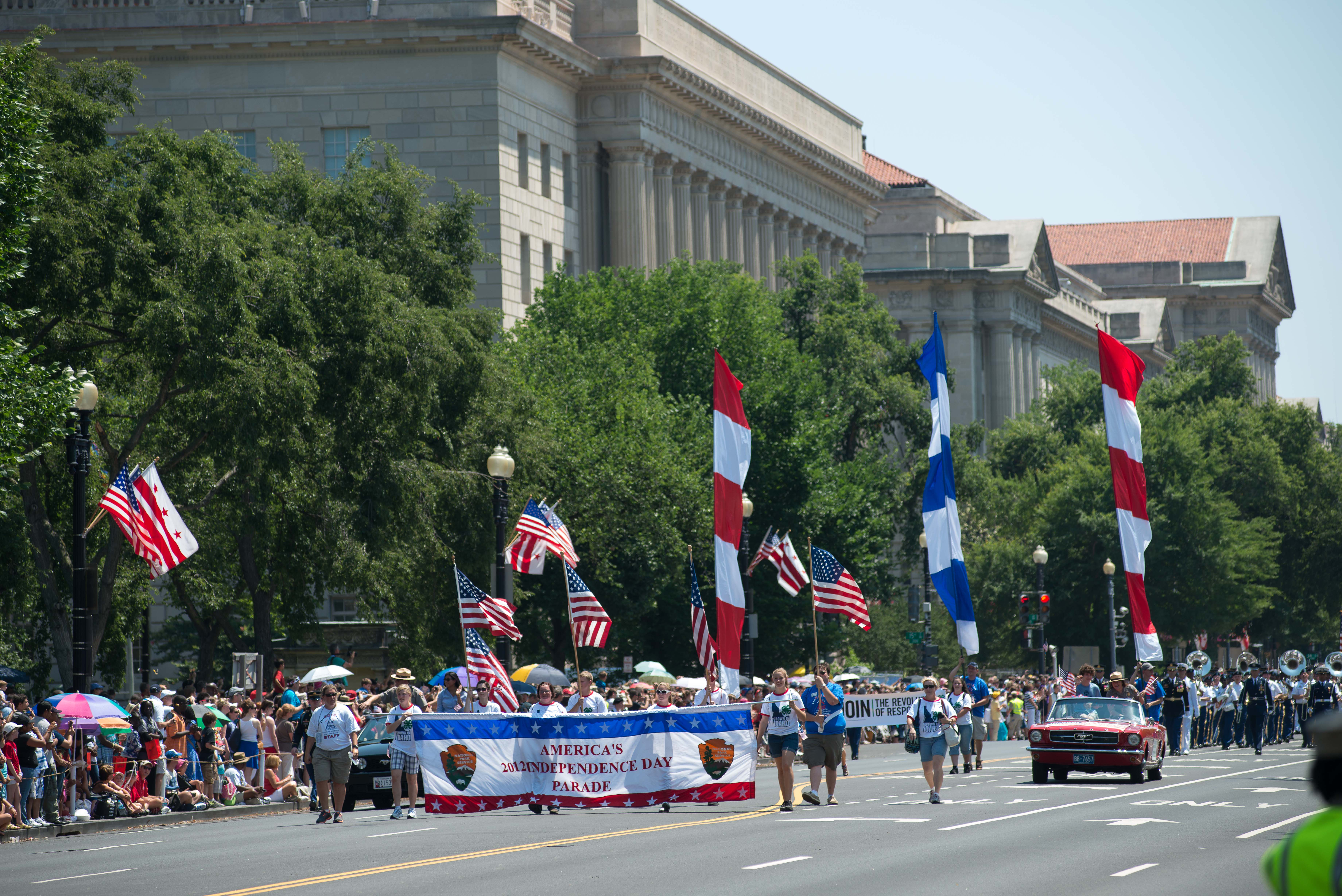 2012 National Independence Day Parade