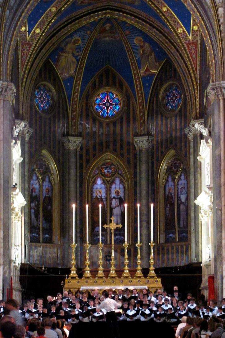 St. Agnes Cathedral Choirs Performance at Santa Maria Sopra Minerva