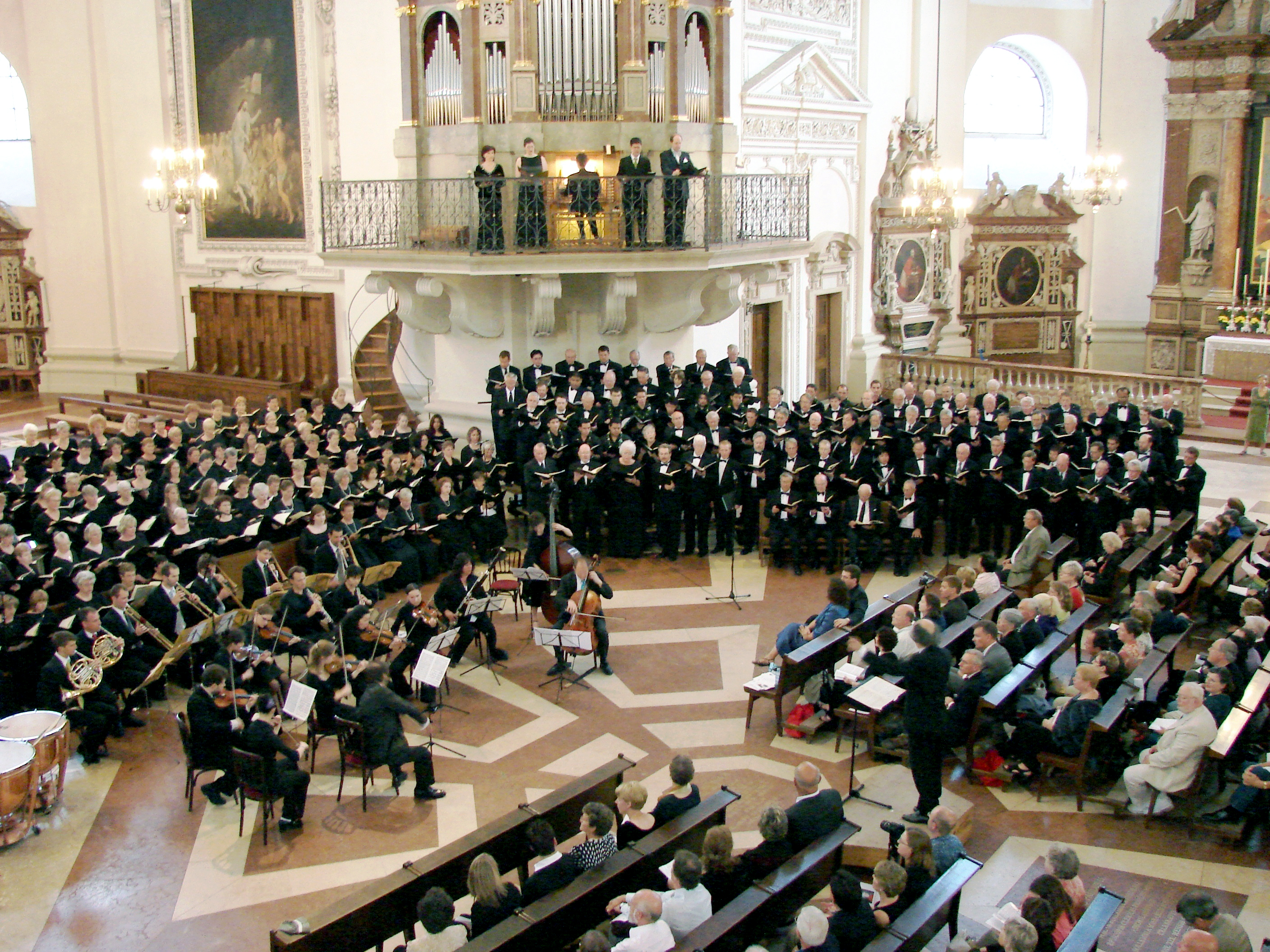 Mozart Choral Festival in the Salzburger Dom