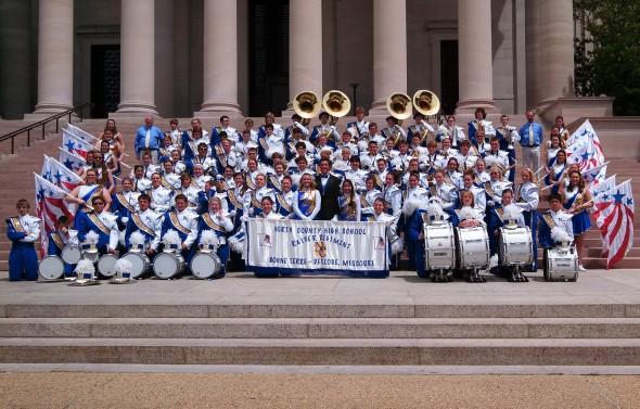 North County High School Raider Regiment in Washington, DC