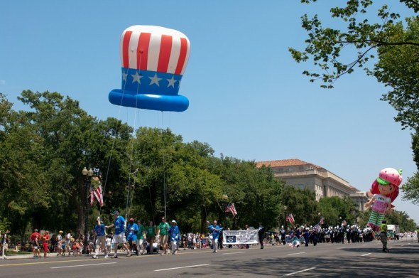 National Independence Day Parade in Washington, DC