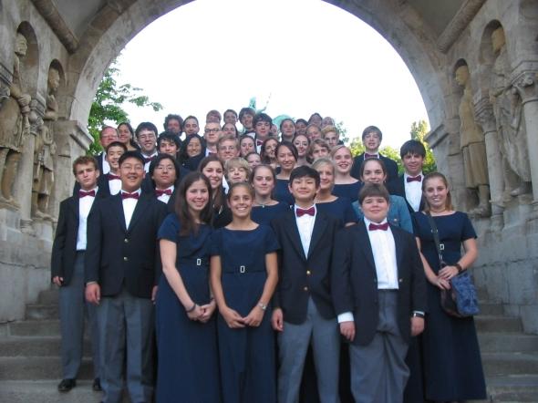 Indian Springs School Choir in Austria
