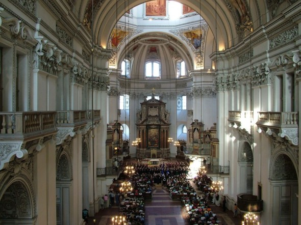 Valparaiso High School Choir in the Mozart Festival in Salzburg Dom