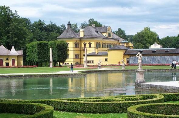 Hellbrunn Palace in Salzburg