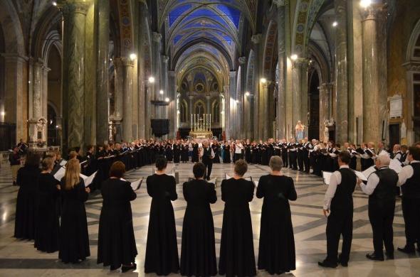 Sacramento Choral Society performs at Santa Maria Sopra Minerva