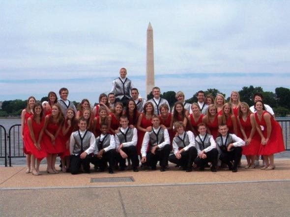 Taylor County High School Choir in Washington, DC