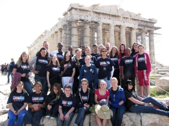 La Villa School of the Arts Choir in Athens
