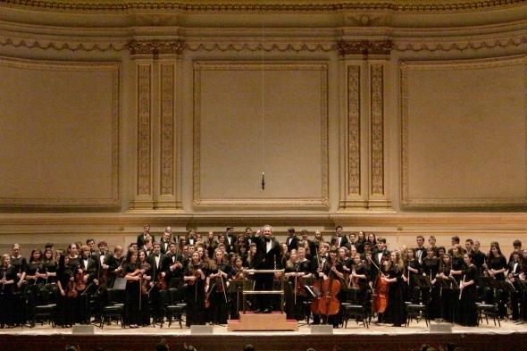 Duxbury High School Music Department in Carnegie Hall