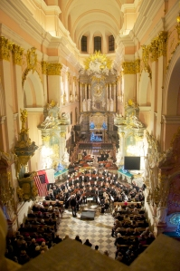 GWO Performing at the Church of the Holy Sepulchre in Miechów