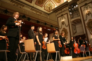 Walled Lake Orchestra Performance at the Haydnsaal in Eisenstadt