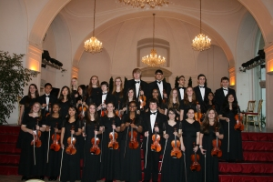 Walled Lake Orchestra at L'Orangerie in Schönbrunn Palace in Vienna