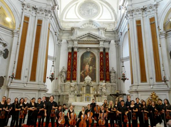 Davis Baroque Ensemble Performance at Chiesa di Santa Maria della Pietà