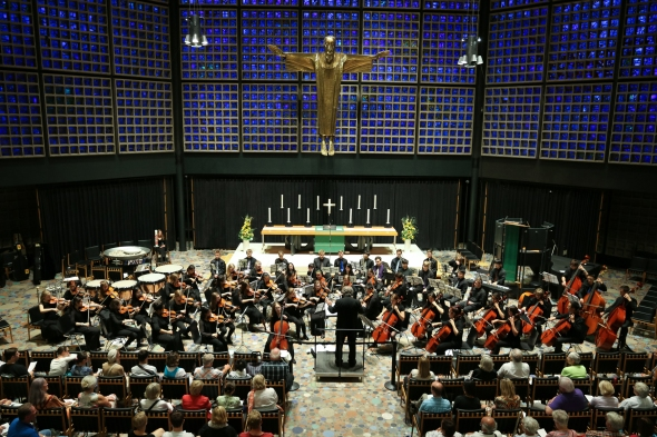 Calgary Youth Orchestra Performance at Kaiser Wilhelm Memorial Church