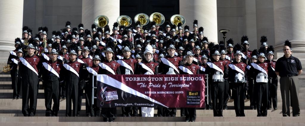 torrington high school marching band