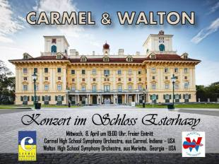 Concert Promotion for Performance at Haydnsall at Esterhazy Palace