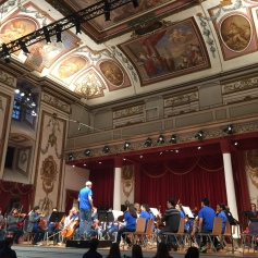 Walton Orchestra at the Haydnsaal in Eisenstadt (2)